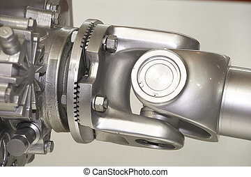 universal joint - silvery universal joint at exposition