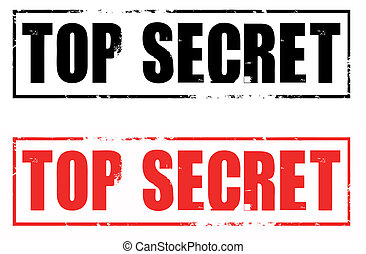 top secret rubber stamps