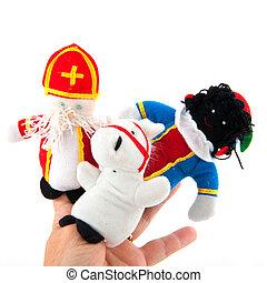 Sinterklaas finger puppets - Finger puppets from Sinterklaas...
