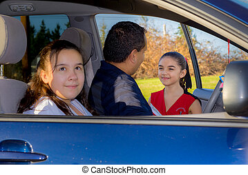 Father Sends Daughter Off To Cheerleader Practice -...
