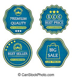 Collection of sale icons
