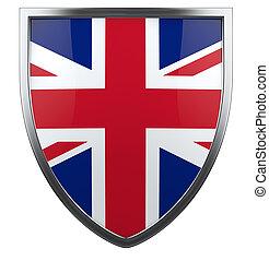 British flag - Belarus flag icon design element.