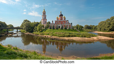 Resurection Cathedral, an orthodox church in an its...