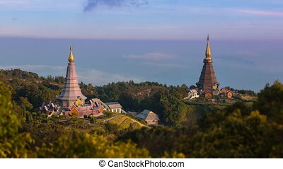 King and Queen Pagoda Of Thailand - King and Queen Pagoda...