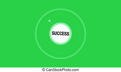 Business Success Animation Concept including Ideas, Web...