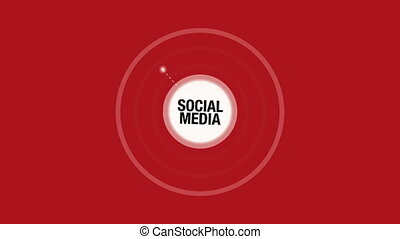 Social Media Conceptual Animation with Components such as...