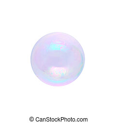 bubble Isolated on white background