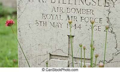 Royal Air Force WWII Grave - Royal Air Force WWII pilot...