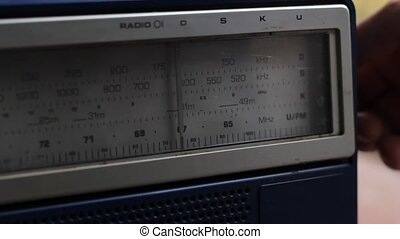 Search for Radio Stations - Manually searching for the...