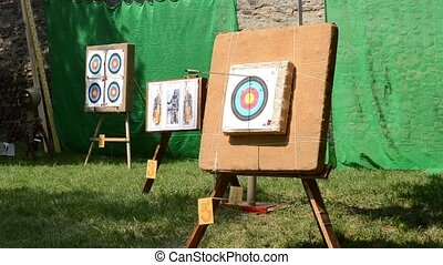 Targets for Arrows - Circular color targets for propelling...