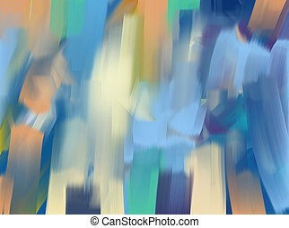 digital painting abstract background - Digital Painting...