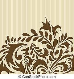 floral background - Floral background for design use.