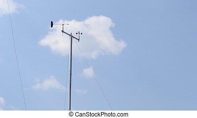 Weather Wind Indicator Instrument - A windsock is a conical...