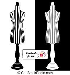 Sewing Fashion Model Mannequins - Fashion model mannequins...