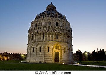 Baptistry of St. John, Pisa, Italy - Baptistry of St. John...