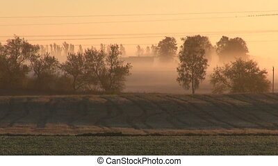 sunrise and summer end fields - sunrise and summer end...