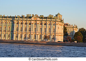 Winter Palace, St.Petersburg. - The Winter Palace at...