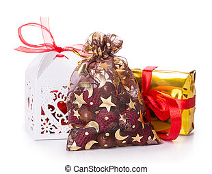 gift bag Isolated on white background