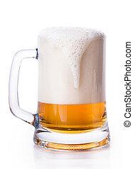 玻璃, 啤酒, 泡沫