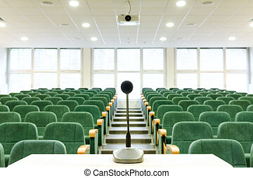 Lecture Hall - Modern Lecture Hall Theater seating in a...