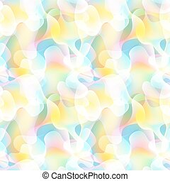 Abstract wawes seamless pattern