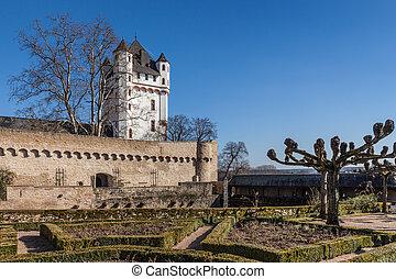 Electoral Castle of Eltville, Rheingau, Hesse, Germany