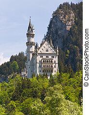 Neuschwanstein in Zuid-Duitsland - Kasteel in Beieren