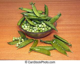 Garden pea (Pisum sativum) - The garden pea (Pisum sativum)...