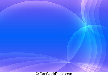 Abstract blue and light puple background Intersecting arcs...