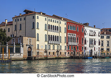 Venetian Buildings - Specific building on the side of Grand...