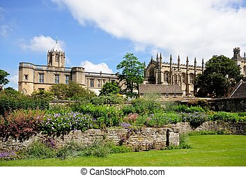 Christ Church Cathedral, Oxford. - View of Christ Church...