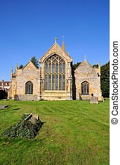 St Lawrence church, Evesham - St Lawrence Church and...