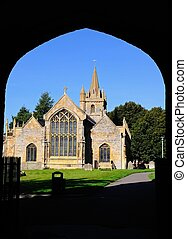 St Lawrence Church, Evesham. - St Lawrence Church and...