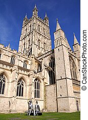 Gloucester, Cathedral.,
