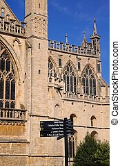 Cloucester, Cathedral.,
