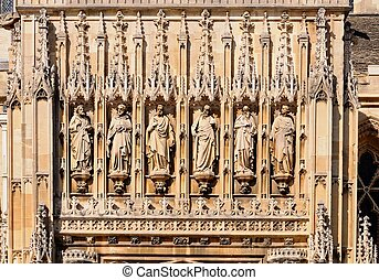 Gloucester, catedral, detail.,