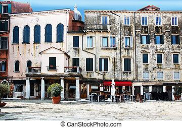 Campo del Ghetto Novo Venice - Campo del Ghetto Novo in...