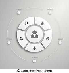Flat Mobile UI Design Polygon infographics design Eps 10