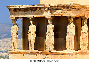 Parthenon at Acropolis, Athens - The Doric temple Parthenon...