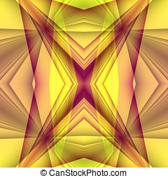 Geometrical ornament. - Geometric shapes are in the...