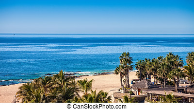 Cabo San Lucas - Beautiful beaches along the shoreline of...
