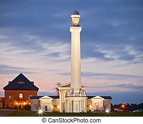 Louisville Kentucky USA, the oldest ornamental water tower...