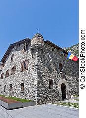 The Casa de la Vall at Andoorra-La-Vella at Andorra