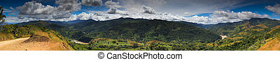 Boruca Panorama - The Boruca are an indigenous people living...