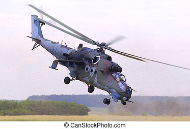 Mil Mi-24 Hind - Mi-24 Hind during airshow in Roudnice nad...