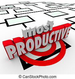Most Productive Employee Organization Chart Business Company Wor