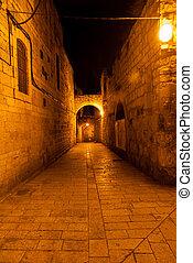 Jewish Quarter Streets, Jerusalem - Jewish Quarter Streets...