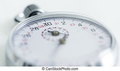 Time lapse Stopwatch - Time lapse Silver modern Stopwatch on...