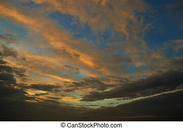 Gloaming - Brilliant, colorful skies at sunset