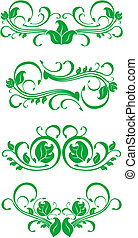 Flourishes decorations